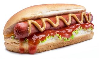 Grilled Hot Dog
